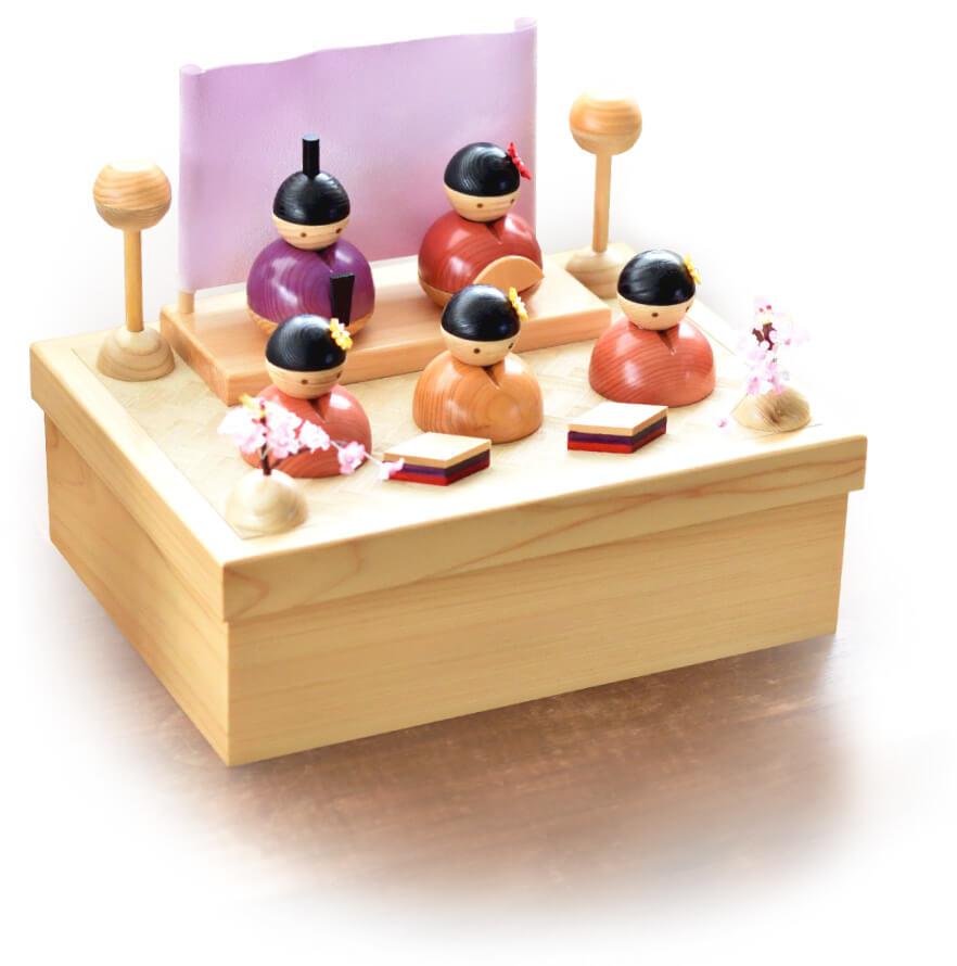 雛人形 五月人形 木製